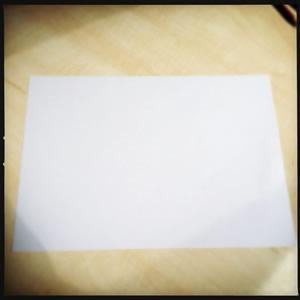 Get a rectangular piece of paper