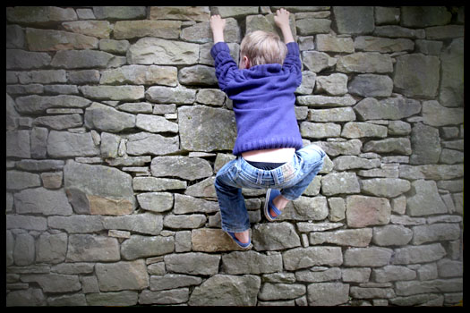 How to go bouldering with kids
