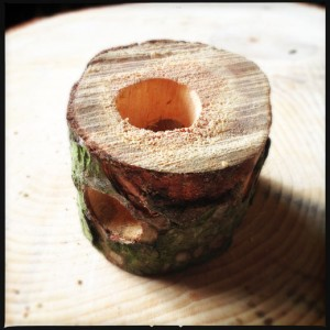 The drilled log