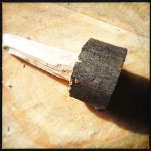 A woodland mallet