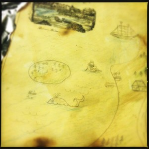 Ye-olde treasure map